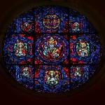 Choir loft Rose Window by Paula Balano