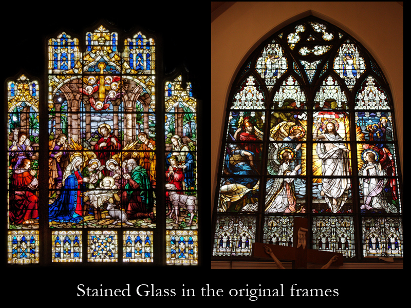 Stained Glass by Beyer Studio for Our Lady of the Mountain Church