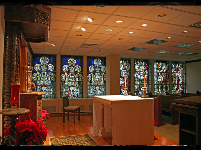 Stained Glass by Beyer Studio for St. Cyril Church of the Seven days of Creation